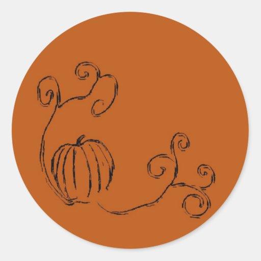 Autumn's Harvest Sticker