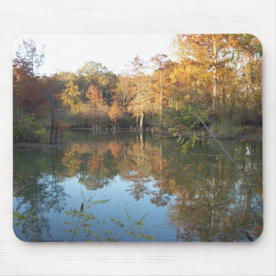 Autumn's poetry mouse mat
