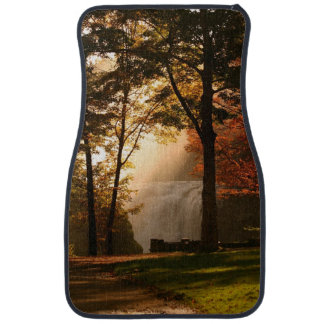 Autumns Waterfall Mist Car Mat