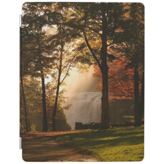 Autumns Waterfall Mist iPad Cover