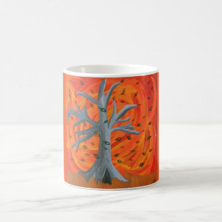 """Autum's Fall"" Art Print Coffee Mug"