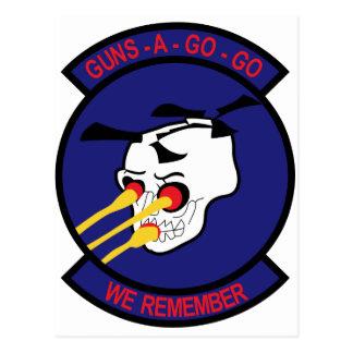 AV-4-160 SOAR GUNS POSTCARD