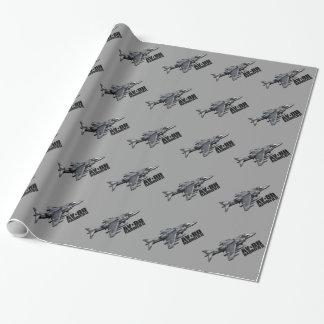 AV-8B Harrier II Gift Wrapping Paper