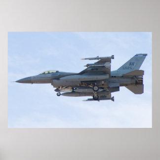 AV AF 88 0525 F-16C Fighting Falcon Poster