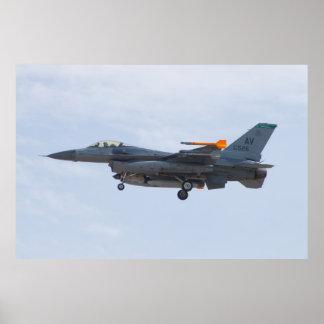 AV AF 88 0526 F-16C Fighting Falcon Poster