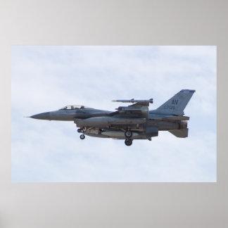 AV AF 90 0709 F-16C Fighting Falcon Poster