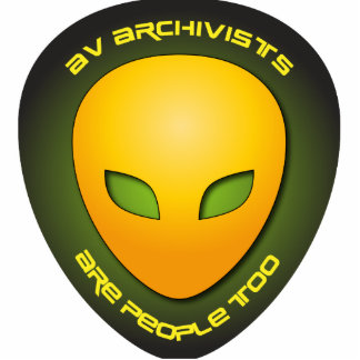 AV Archivists Are People Too Photo Sculptures