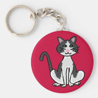 AV- Funky Kitty Cat Keychain