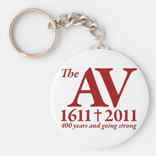 AV Still Going Strong in red Key Chain