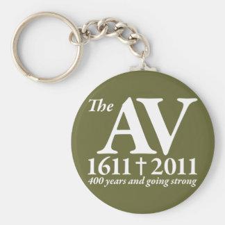 AV Still Going Strong in white Key Chain