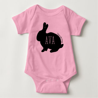 Ava Easter Bunny Babies Top Girls Spring