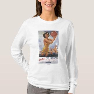Ava Gardner Look-a-like Butlin's Camps T-Shirt