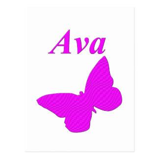 Ava Postcard