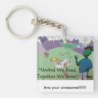 Ava your awesome!! key ring