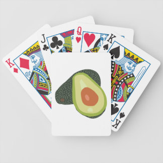 Avacado Bicycle Playing Cards