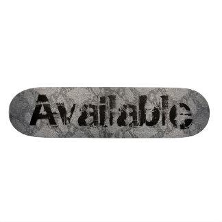 Available Skateskin Skate Board Deck