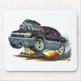 Avalanche Black Truck Mouse Pad