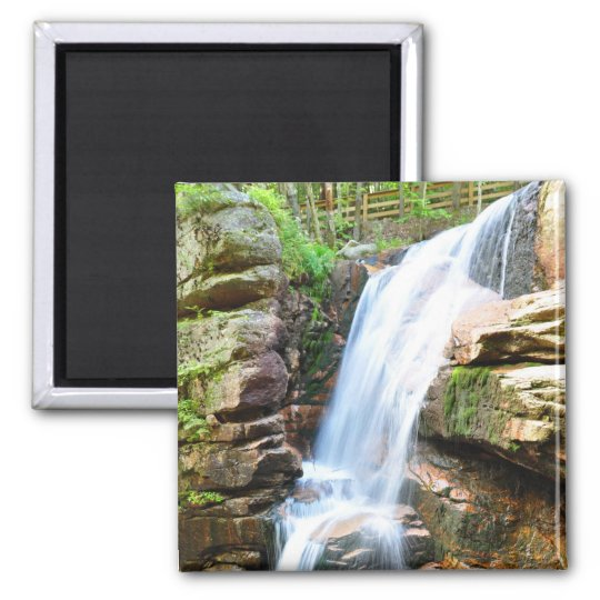 Avalanche Falls Waterfall New Hampshire Magnet