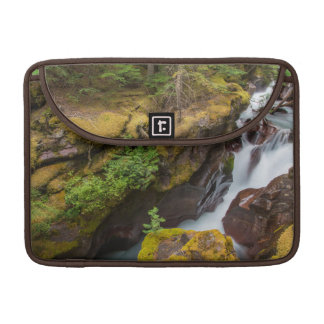 Avalanche Gorge In Glacier National Park Sleeve For MacBook Pro