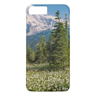 Avalanche lilies and Mount Rainier iPhone 8 Plus/7 Plus Case