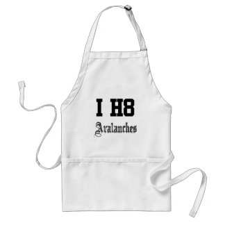 avalanches standard apron