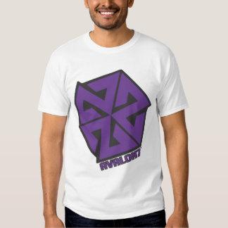 AVALON7 Inspiracon Purple and Black Tee Shirts