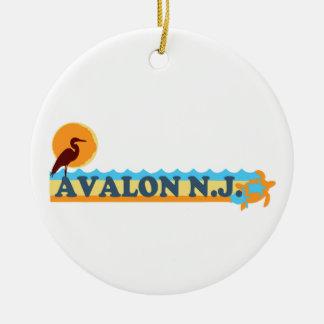 Avalon. Christmas Ornament