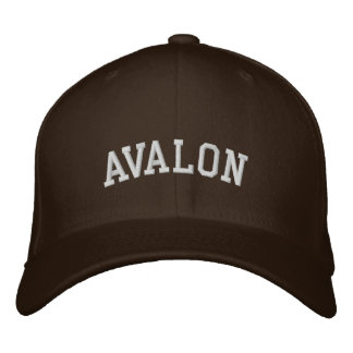 Avalon Embroidered Hat