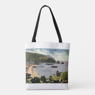 Avalon, Santa Catalina, California Vintage Tote Bag