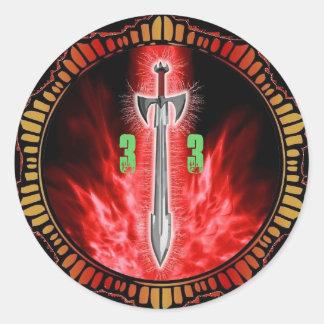 Avalon's Fury Pod Sticker