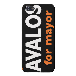Avalos for Mayor - iPhone4 case Cover For iPhone 5