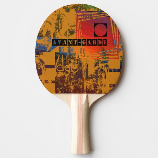 Avant-Garde  Ping Pong Paddle