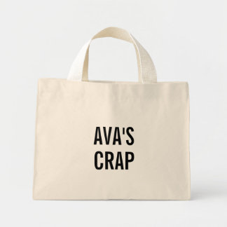 AVA'S crap Mini Tote Bag