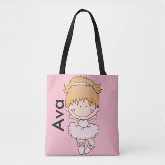 Ava's Personalized Ballet Bag