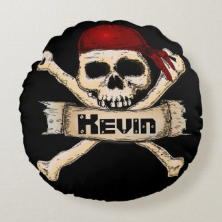 Avast Mi Hearty Round Cushion