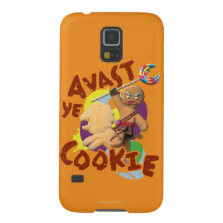 Avast Ye Cookie Case For Galaxy S5