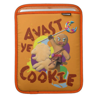 Avast Ye Cookie iPad Sleeve