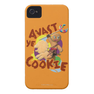 Avast Ye Cookie iPhone 4 Case-Mate Case