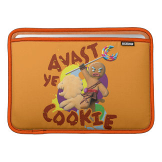 Avast Ye Cookie MacBook Sleeve
