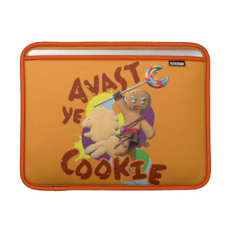 Avast Ye Cookie MacBook Sleeves
