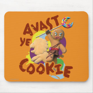 Avast Ye Cookie Mouse Mat