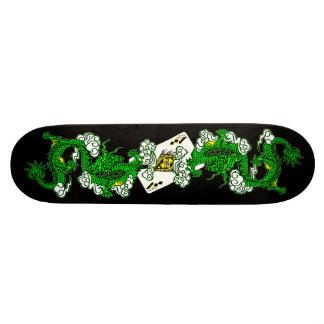 Avatar Green Dragons Skateboard