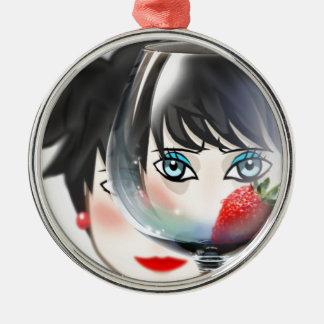 Avatar, Helen Round Metal Christmas Ornament