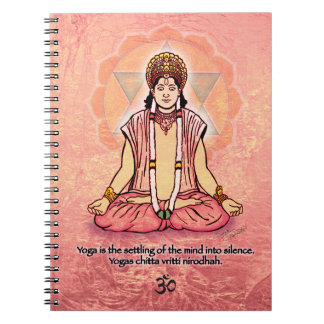 Avatar in Meditation Note Book