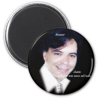 Avatar 6 Cm Round Magnet