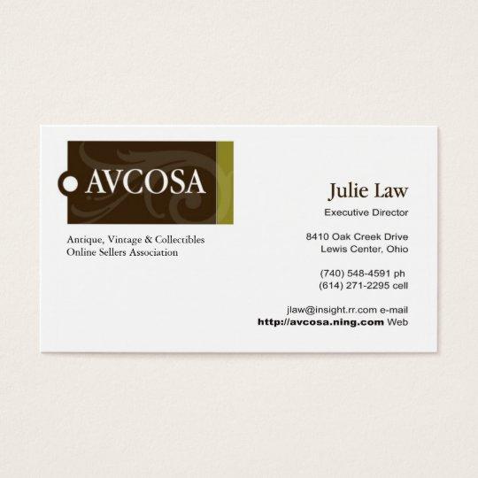 AVCOSA Business Card