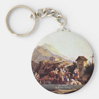 Ave Maria By Richter Ludwig Keychains