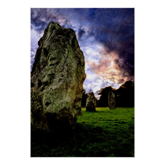 Avebury Magic Poster