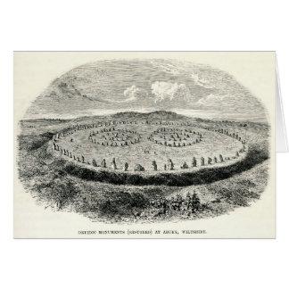 Avebury -  Neolithic henge Card