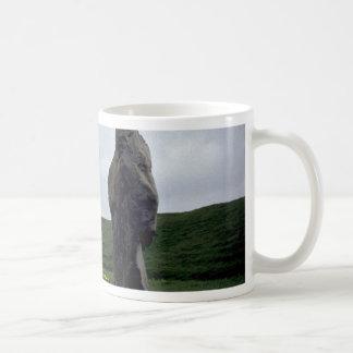 Avebury rock formation coffee mugs